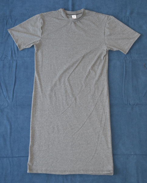 Bamboo Organic Cotton Jersey Sleep Shirt