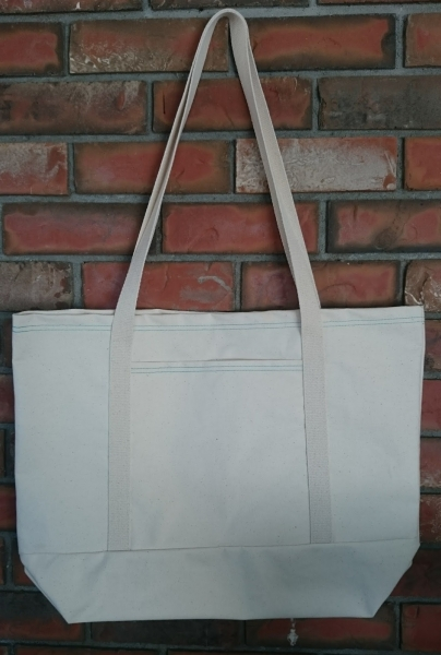 Made in Canada Cotton Canvas Beach Tote / Boat Tote