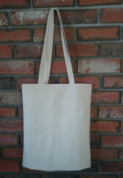 Made in Canada 14x16x4 Cotton Canvas Tote