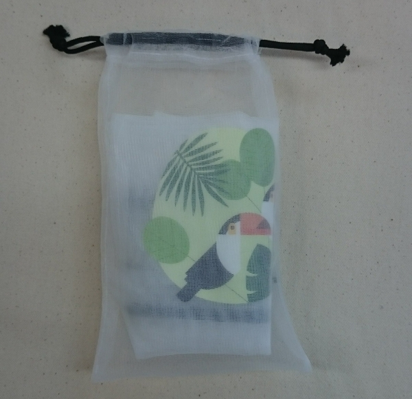 Set of 3 Mesh produce bags