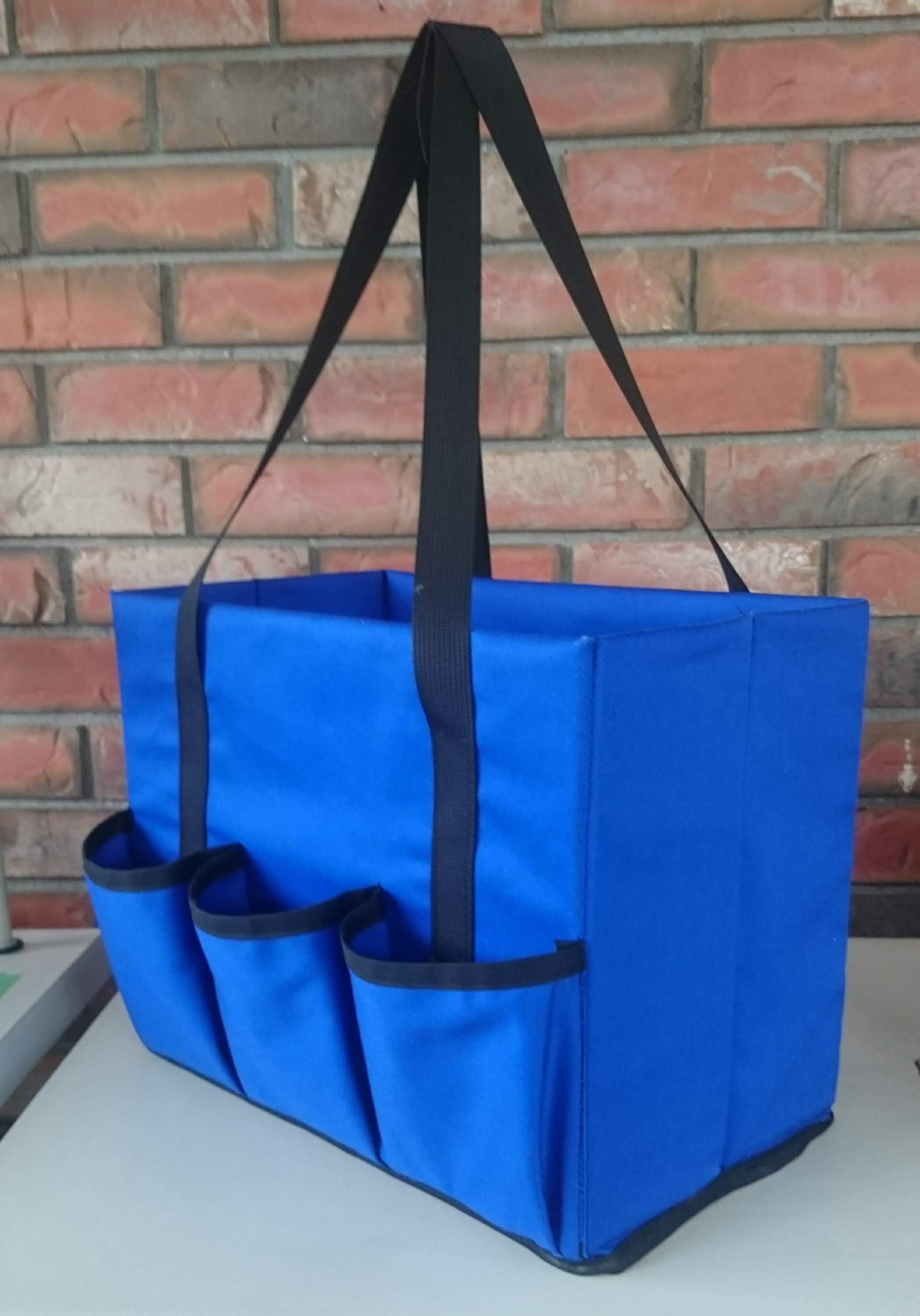 Made in Canada Polycanvas Box tote tool bag