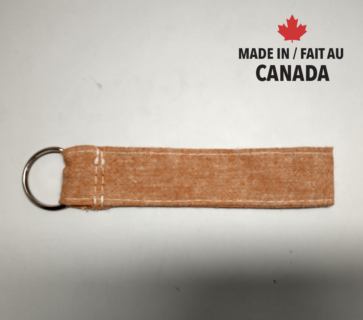 Hemp Organic cotton Key Strap