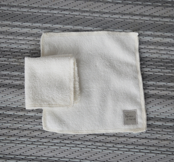 6x6 Organic Bamboo Cleaning Cloth / Face Cloth (Made in Canada)